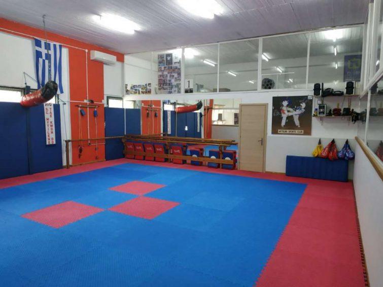 Οι εγκαταστάσεις μας Tae Kwon Do - Sports Club Mytilinis